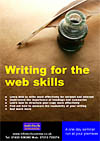 Writing for the web flyer